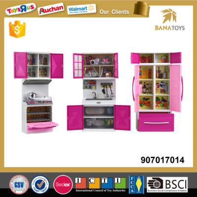 2017 New Toy Kitchen Set Refrigerator