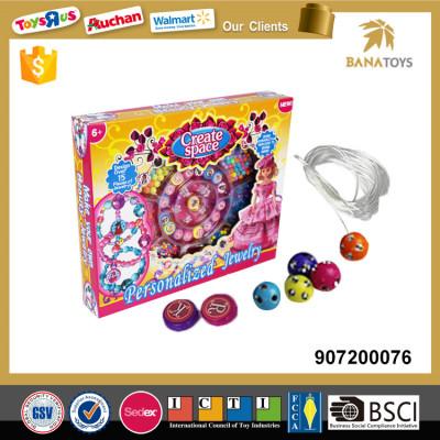 Wholesale educational diy toy bead bracelet