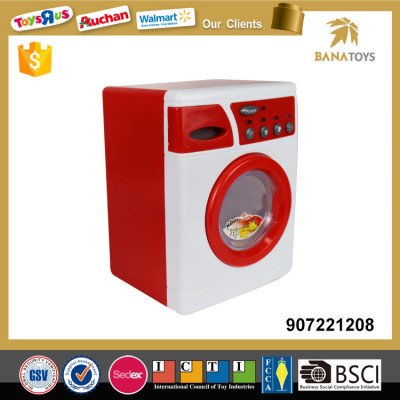 Pretend play electric washing machine toy with IC