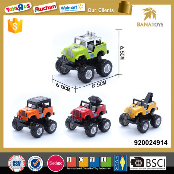 Diecast alloy wheel toy car scale model
