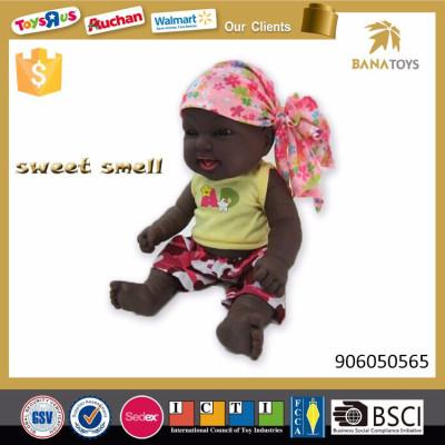 2017 Kids toys children fashion baby black doll