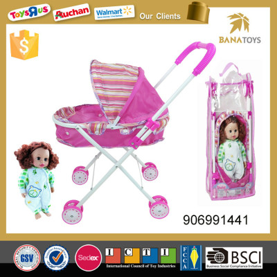 Toy doll stroller baby cart good baby time stroller 2017