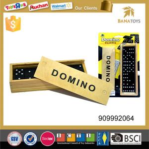Perfect educational 28pcs plastic colored dominoes