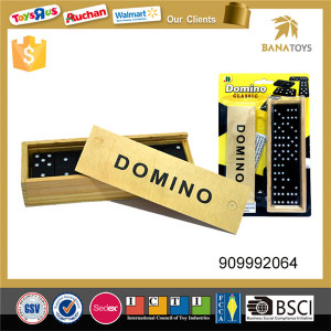 Perfect educational 28pcs plastic colored dominoes