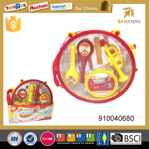 Musical instrument play set drums percussion