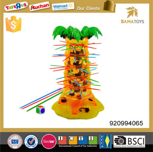 Intelligent indoor play game falling monkey game