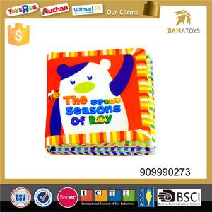 Four seasons education baby cloth book
