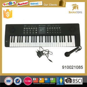 Musical toy digital piano with microphone