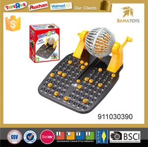 Bingo lotto machine with 90 mumber balls