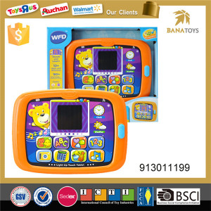Educational learning machine toy tablet