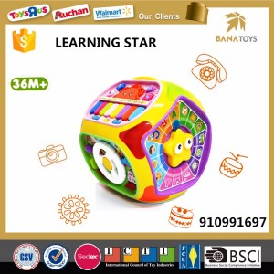 2017 High quality learning educational toys house for kids