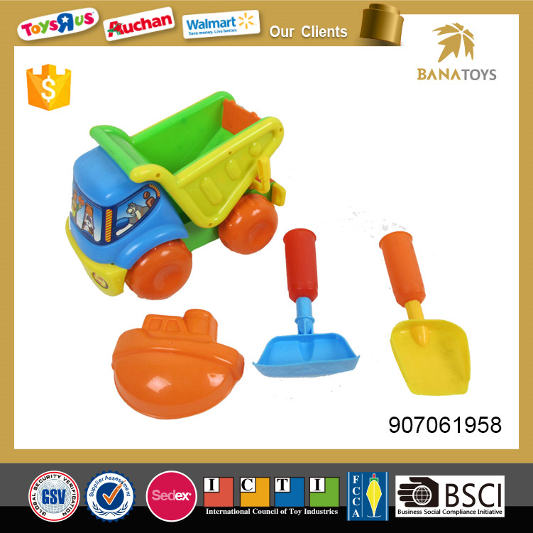 Hot item plastic set of beach toy for kid