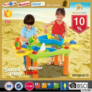 Big promotion beach sand and water play table toys and hobbies