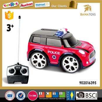 2016 Hot Item Polizei Kunststoff Mini Auto Spielzeug Für Kind