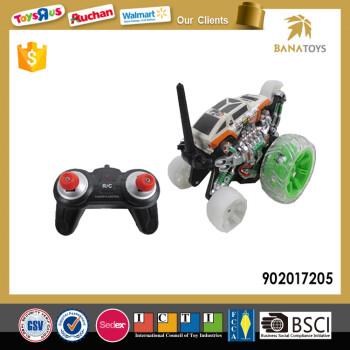 Top Verkauf RC Amphibien Toy Stunt-Auto Mit Bunten Licht