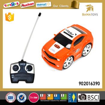Hot 4 Kanal Kinder RC Spielzeug Gelb Taxi
