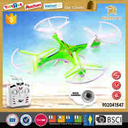 Newest 2.4G drone with hd camera rc quadcopter