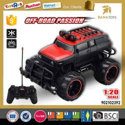 New design 4 wheel drive rc electric toy car for kids
