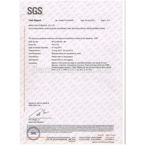 SGS of CPE135A