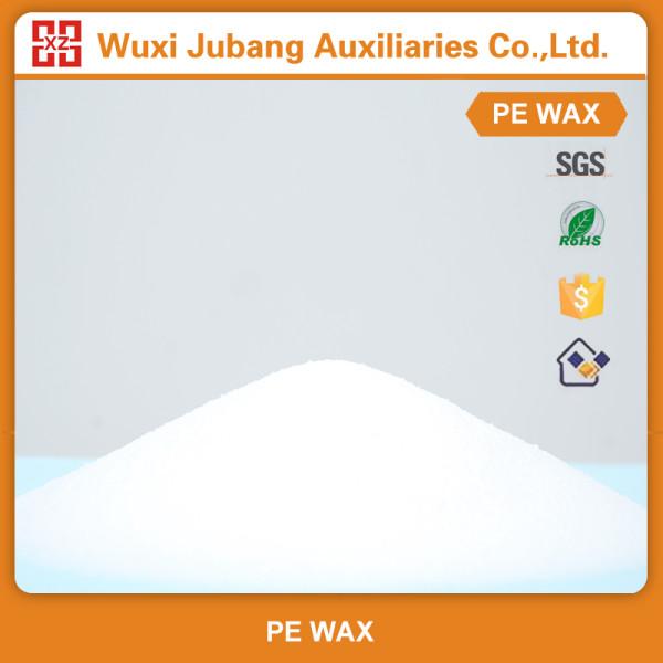 Les ventes directes d'usine blanc poudre paillettes utilise Pe cire pour tuyaux en Pvc