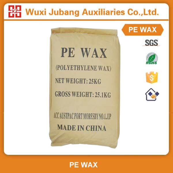 Bonne qualité poudre blanche certificat Pe cire pour profilés en Pvc