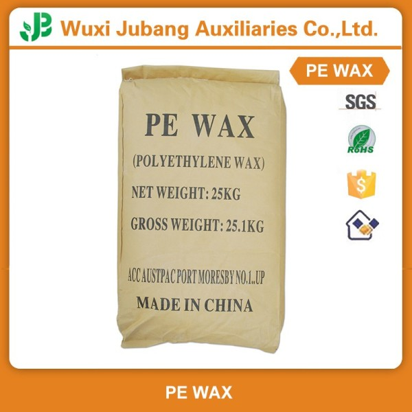 Haut de gamme Micronized certificat de Pe cire pour tuyaux en Pvc