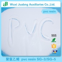 Alibaba tuyau fournisseurs Sg5 Pvc résine biodégradable matières premières en plastique