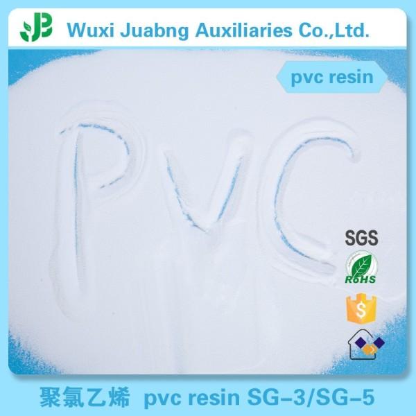 Alibaba schlauch lieferanten sg5 pvc-harz biologisch abbaubaren kunststoff rohstoff