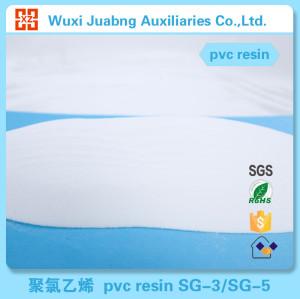 Maßgeschneiderte gemacht pvc-harz geringen Verunreinigung partical sg5 k67 rohstoffindustrie