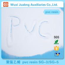 Meilleures ventes nom de matières premières en plastique Pvc SG5 de résine pour tuyaux en Pvc