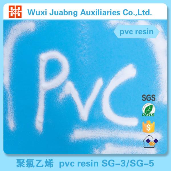 Weiß pvc-harz pulver rohstoff biologisch abbaubaren rohstoff