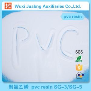 Médico Industrial grado resina de PVC SG5 K67 pieza de plástico para tubería de PVC