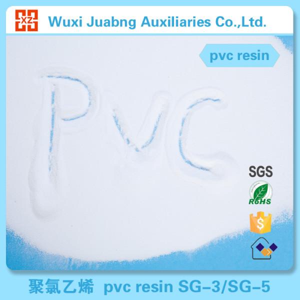 Weißes pulver rohstoff pvc-harz sg8 für pvc falztasche