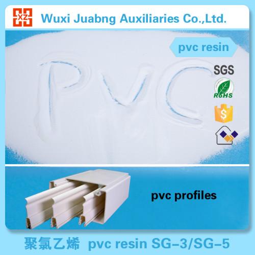 Hochleistungs pvc-harz sg3 sg5 für pvc-profile