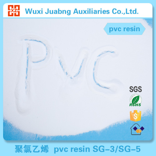 zertifiziert weißes pulver rohstoff pvc harzfabrik
