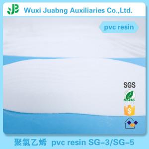 Fabrik-versorgungsmaterial Geringe Verunreinigung Partical Rohr Kunststoff Rohstoff China Pvc Harz