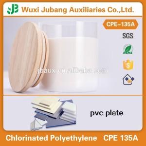 Agent auxiliaire chimique / additif chimique / polyéthylène chloré CPE 135A