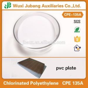Polyéthylène chloré CPE 135A, Plastique additif, Cpe 135a utilisé pour pvc additifs