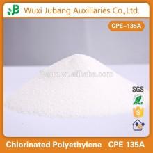 how is Chlorinated polyethylene produced