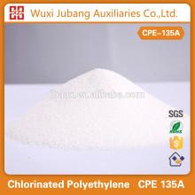 Agent auxiliaire chimique polyéthylène chloré CPE 135A pour joint en plastique