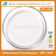 Rohstoff für die pvc- und gummiprodukten, chloriertes polyethylen cpe 135a