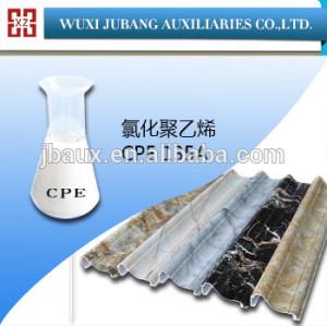 Química agente auxiliar clorado addtive CPE 135A para todos los productos de PVC