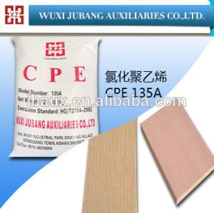 Materia prima cpe 135a para placas de pvc