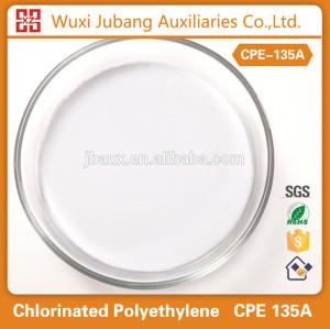 Polyéthylène chloré 135a pour PVC produits et produits en caoutchouc