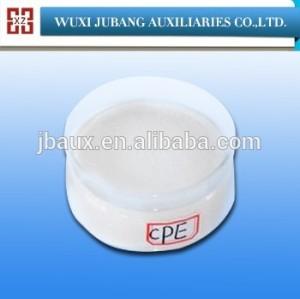 Fabricant polyéthylène chloré CPE135A 2015 hot vente