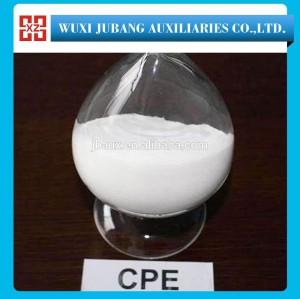 Pvc modificateur CPE135A - polyéthylène chloré qui est non toxique et insipide