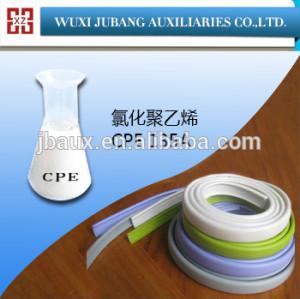 Chloriertes polyethylen, schlagzähmodifikator cpe 135a für abstellgleis