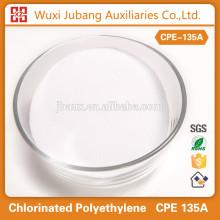Additif en plastique polyéthylène chloré cpe135a pvc panneau de mousse pureté 99%