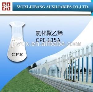 Blanco polvo CPE135A clorado addtive para pvc puerta y ventana de perfiles de pureza 99%