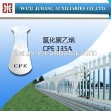 Weiß podwer cpe135a chloriertes polyethylen für pvc tür-und fensterprofile Reinheit 99%